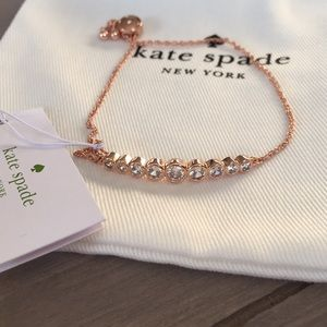 Kate Spade Full Circle Bracelet New in Rose Gold!